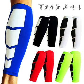 1Pair Base Layer Compression Leg Sleeve Shin Guard Men Women Cycling Leg Warmers Running Football Basketball Sports Calf Support