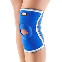 BMP Extra Thick Warming Blue Knee Brace & Compression Sleeve