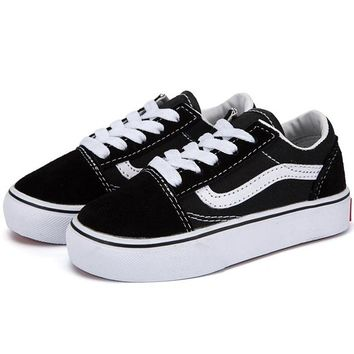 Vans Girls Boys Children Baby Toddler Kids Child Breathable Snea 52944277e