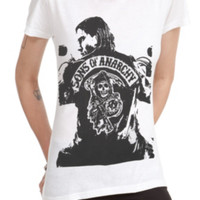 Sons Of Anarchy Jax Girls T-Shirt