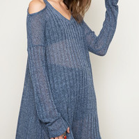 Hold Me Tight Luxe Knit Sweater in Ice