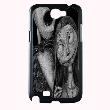 jack skellington and sally FOR SAMSUNG GALAXY NOTE 2 CASE**AP*