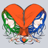 $16.99 Clementine's Heart Art Print by castlep?p | Society6