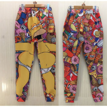 Simpsons Joggers