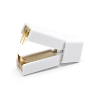 White + Gold Staple Remover