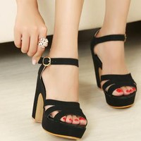 Candy Color High Heel Sandals for Women VC23
