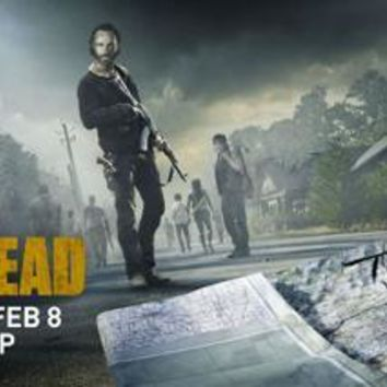 The Walking Dead Poster Scroll Banner 36x14 Season 5