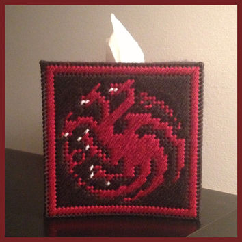Targaryen Tissue Box Cover - Game of Thrones Daenerys