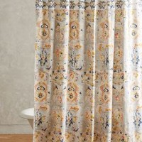Orissa Shower Curtain by Anthropologie in Multi Size: One Size Shower Curtains