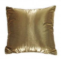 Wake Up Frankie - Glamour Girl Euro Sham - Gold : Teen Bedding, Pink Bedding, Dorm Bedding, Teen Comforters