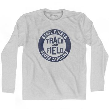 South Carolina State Finals Track and Field Adult Cotton Long Sleeve T-shirt