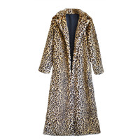 Faux Leopardz Long Coat