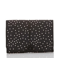 FOREVER 21 Dotted Hanging Cosmetic Case Pink/Black One