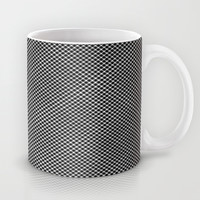 plaid hypnosis Mug by RichCaspian
