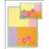 Stephen Joseph Fleece Blanket/Pillow Set, Flower $26.16