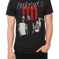 Paramore Bars Band Slim-Fit T-Shirt