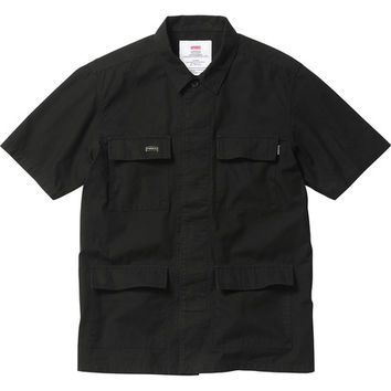 Supreme: Ripstop BDU Shirt - Black