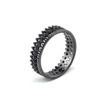 Juliet Black Ring