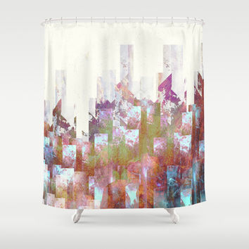 Dead cities Shower Curtain by HappyMelvin