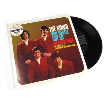 """The Kinks: You Really Got Me (Live) / Milk Cow Blues (Live) Vinyl 7"""" (Record Store Day)"""