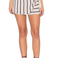 Privacy Please Emory Skort in Papyrus