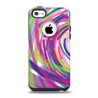 The Color Strokes Apple iPhone 5c Otterbox Commuter Case Skin Set
