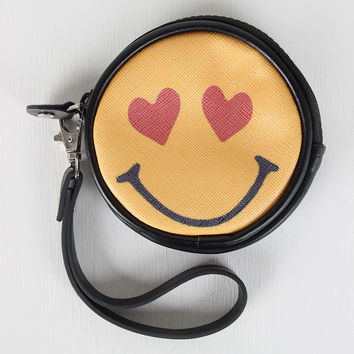 Heart Eye Emoji Coin Purse
