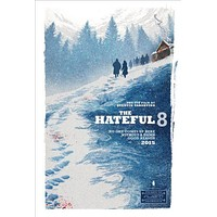 Hateful Eight The poster 24in x36in