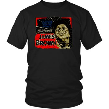 James Brown Mr Dynamite Soul Funk T Shirt