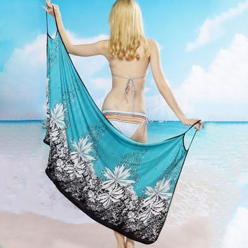Womens' Beach Wear Sarong Bikini Cover-up