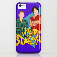 Bill and Ted Wyld Stallyns iPhone & iPod Case by Steve Wade
