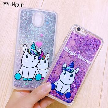 Glitter Case for iPhone 5 5s se Coque iPhone 7 Case Quicksand Cover on for Funda iPhone X XS Max XR 6 6S 7 8 Plus Case Capinha