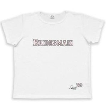 Women's Collegiate Bridesmaid T-shirt