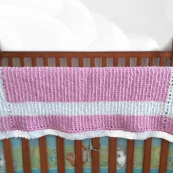 Custom Made Blanket, Handmade Baby and Toddler Blanket, Custom Order, Custom Made in Your Color Choice