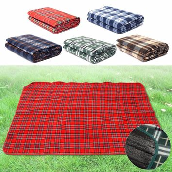 130x150cm Waterproof Outdoor Mat Picnic Pad Camping Beach Children Crawling Blanket