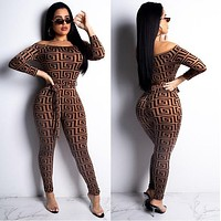 Versace Women Retro strapless Jumpsuit