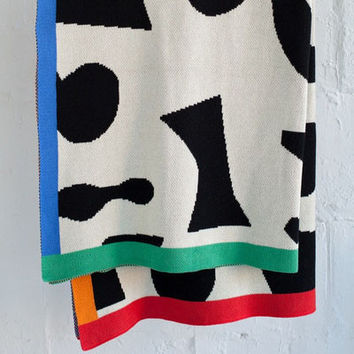 Shapes Throw Blanket
