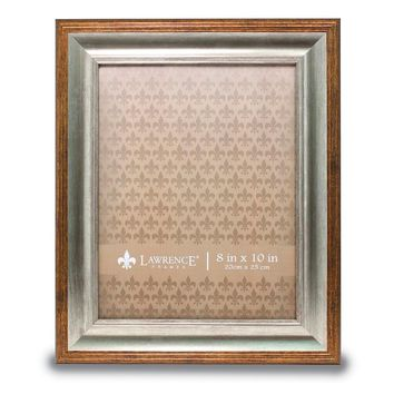 8x10 Tatum Silver And Gold Picture Frame