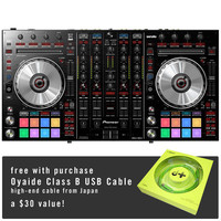 Pioneer: DDJ-SX2 Performance DJ Controller for Serato + Free Oyaide USB Cable