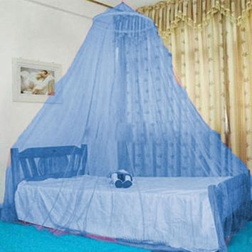 Fashion Canopy Lace Mosquito Net Cradle Ger Style Bed Netting Bedspread Round Aulic