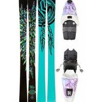 K2 Missdemeanor Skis w/ Marker 10.0 Free Bindings - Womens