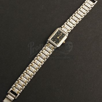 Original Movie Prop - Wanderlust - Linda's (Jennifer Aniston) Faux Cartier Wristwatch- Authentic