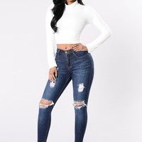 Candy Shop Jeans - Dark