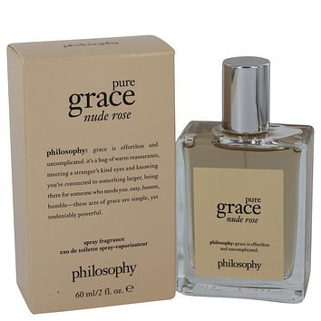 Amazing Grace Nude Rose by Philosophy Eau De Toilette Spray 2 oz