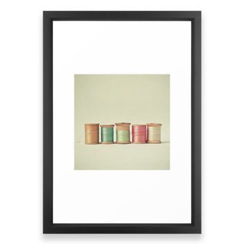 Society6 Five In A Row Framed Print
