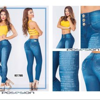 100%  Authentic Colombian Push Up Jean 7985 by Posesion (R)