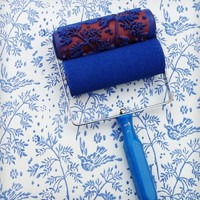 Spring Bird Design Patterned Paint Roller & Applicator