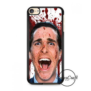 Christian Bale American Psycho Movie iPod Touch 6 Case