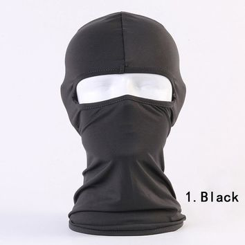 Outdoor sports windproof mask winter neck warm balaclava hat mask ski motorcycle cycling climbing mask