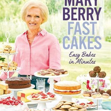 Mary Berry Fast Cakes Cookbook - Easy Bakes in Minutes